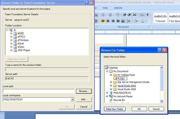 TFS in SQL Navigator for Oracle   eikden net